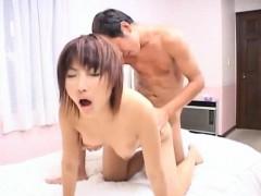 Mirai Hoshino licks and...
