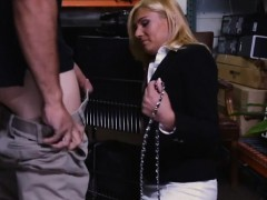 Hot blonde milf screwed in...