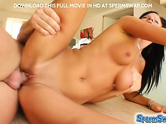 Two hot teens get their...