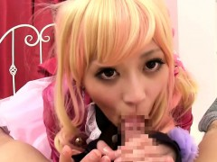 Squirting cosplay Miki...
