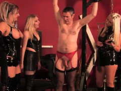 Dominating mistresses take...