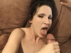Melanie drained this dick