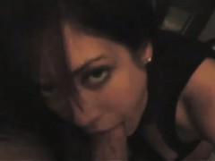 Capri loves to suck big cocks