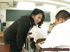 Natsumi Kitahara ass licks...