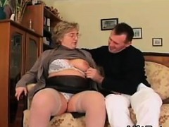 Fat And Horny Granny...