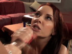 MILF Janet Mason drilled on...