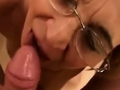 Amateur Grandma Strips And...