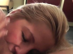 Facial loving blonde...