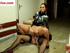 Slut fucked and licked by...