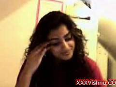 Sey young Indian babe on...